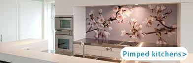 kitchen splashback ideas uk splashbacks for kitchens custom made pimpyourkitchen