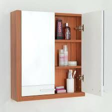 bathroom mirror storage corner bathroom cabinet with mirror and light decoration white