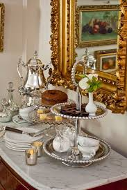 little tea table set a little vintage glam for an afternoon tea serve with vintage china