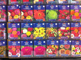 flower seed packets it s not work it s gardening the seed packet displays are here