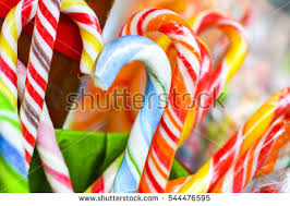 christmas candy gift basket stock images royalty free images