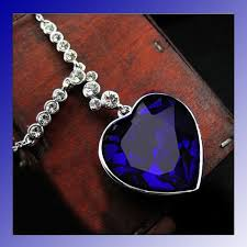 aliexpress heart necklace images Aliexpress fashion wholesale the heart of the ocean sea titanic jpg