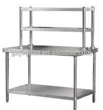 Stainless Steel Kitchen Shelves by 4 Layers Commercial Kitchen Storage Shelf Stainless Steel Kitchen