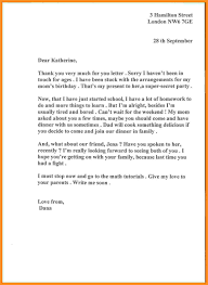 business letters thank you letter for gifts example design