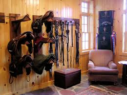 tack rooms like the tile for easy cleaning chair cooler