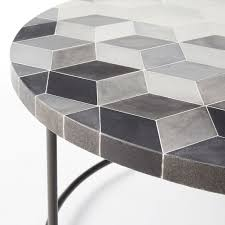 west elm concrete side table incredible custom table wood and concrete live edge throughout plans
