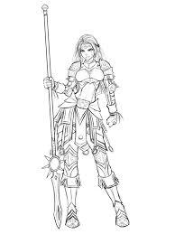 imelda allwarrior armored maiden sketch by ronindude on deviantart