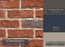 triangle brick portsmouth and vinly trim useful gray sw7050
