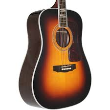 amazon com guild d 55 atb antique sunburst acoustic dreadnought