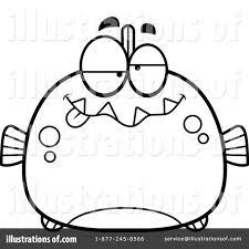 piranha clipart 1138747 illustration by cory thoman