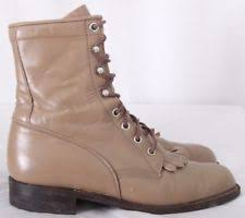 s roper boots australia justin mens 545 bay apache lace up roper boots 6ee s ebay