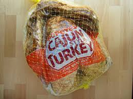review popeyes cajun turkey brand