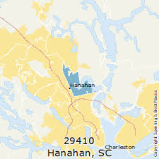charleston sc zip code map best places to live in hanahan zip 29410 south carolina