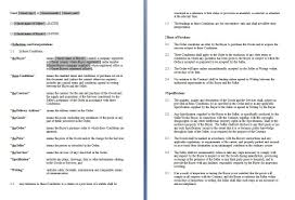 contract template selimtd