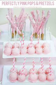Cake Pop Decorations For Baby Shower Best 25 Pink Cake Pops Ideas On Pinterest Baby Shower Cakepops