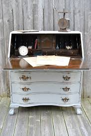 Secretary Desk Claw Foot Secretary Desk Makeover My Creative Days