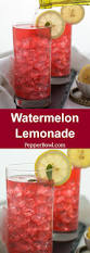 watermelon lemonade recipe super simple great for parties and