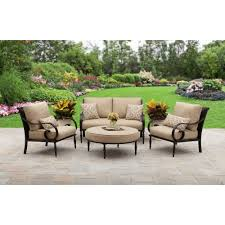 Outdoor Replacement Cushions Deep Seating Better Homes And Gardens Cushions Englewood Conversation Set