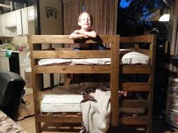 Ana White Bunk Bed Plans by Ana White Toddler Bunk Beds Diy Projects
