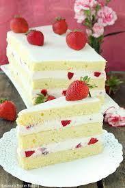 strawberry shortcake cake recipe cake recipes and food