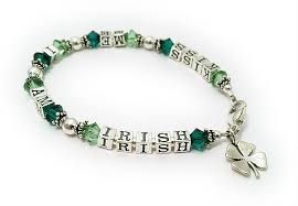 lucky leaf bracelet images Shamrock bracelets irish bracelet necklaces earrings with 4 jpg