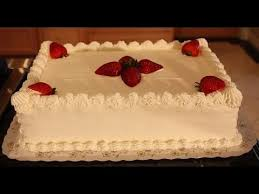 white sheet cake decoration youtube