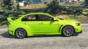 mitsubishi lancer evo modified mitsubishi lancer evolution x fq 400 for gta 5