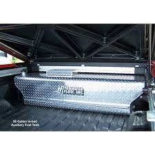Fuel Tanks For Truck Beds Transfer Flow 0800116184 50 Gallon Diamond Plate Auxiliary Fuel Tank