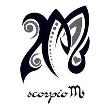 zodiac scorpio design temporary