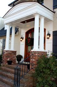 Colonial Front Porch Designs 9 Best Colonial Front Porch Images On Pinterest Front Entry