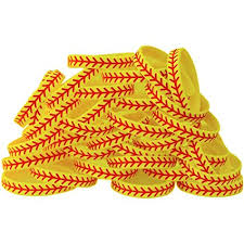 design silicone bracelet images Sayitbands 20 softball design wristband silicone jpg