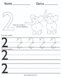 number 2 worksheets u2013 wallpapercraft