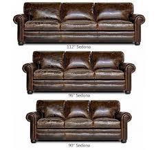 Lancaster Leather Sofa Sedona Lancaster Oversized Seating Leather Sofa Set