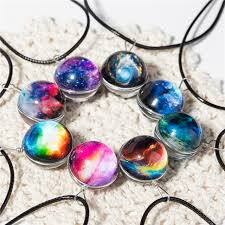 pattern crystal necklace images Collares duplex planet crystal stars ball glass galaxy pattern jpg