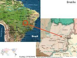 map of brasilia ceop lba brasilia reference site brasilia station