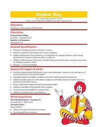 Cashier Resume Templates Free Resume Examples Mcdonalds Cashier Resume Ixiplay Free Resume Samples