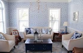 a coco trellis stenciled living room stencil stories