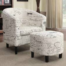 Printed Fabric Armchairs Accent Chairs Ebay