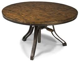 round table grand lake cranfill round cocktail table 40 d x 20 29 h 600 adjustable