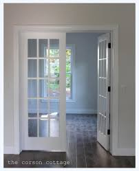 interior large arched interior french doors design with glass