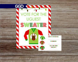 sweater card etsy