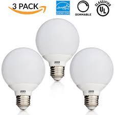 white vanity light bulbs sunco 3 pack 6w dimmable g25 4000k cool white led bulb vanity light