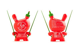 sriracha bottle cap kidrobot sket one sriracha bottle dunny hypebeast