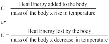 the purpose of this experiment was to measure the specific heat