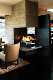 three sided fireplace perfect three sided gas fireplace that i