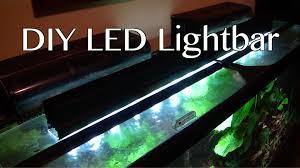 how to build led light bar diy led light bar youtube
