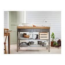 Kitchen Island Spacing Ikea Rimforsa Work Bench Gives You Extra Storage Utility And Work