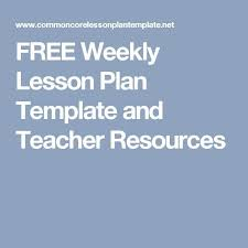 high lesson plan template sample weekly lesson plan 8