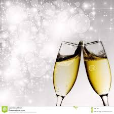 new years chagne glasses new year s at midnight stock image image 35917801