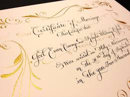 1st anniversary gifts for husband wedding ideas janefarrcalligraphyfont1edding calligraphy by